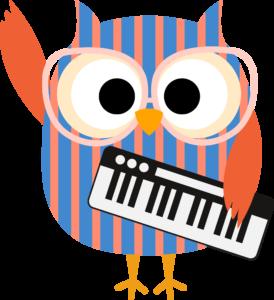 Piano Class owl