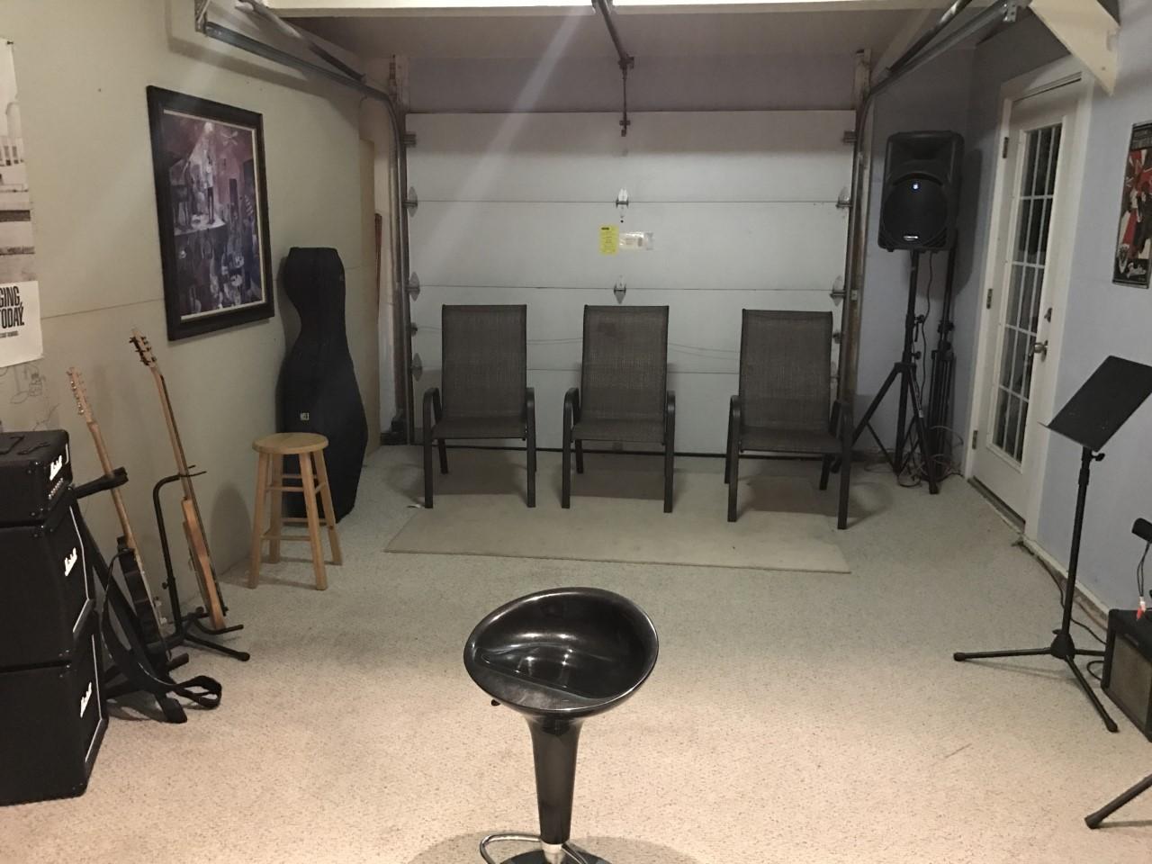 Garage band drum class tucksedo studio
